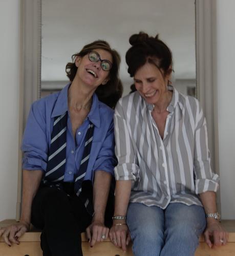 lucille renié et Christine lombard pour Chic, le guide qui donne du style