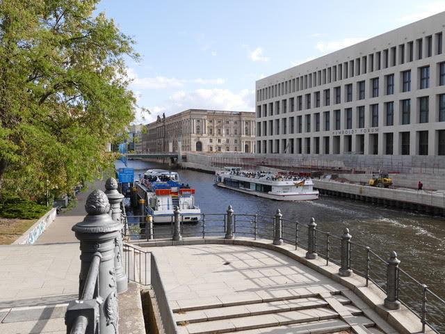 berlin,vue du pont