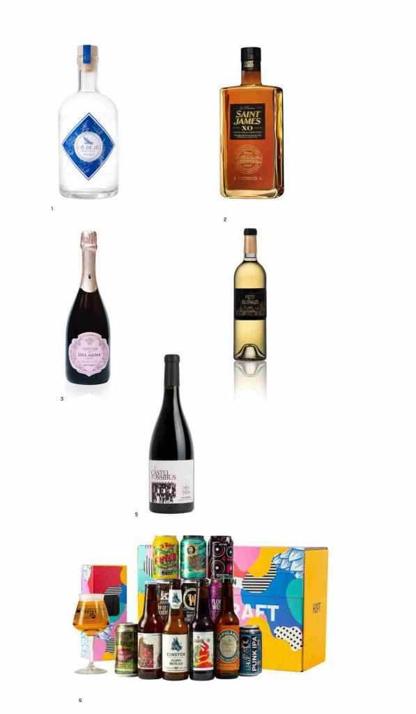 des cadeaux gourmands à boire