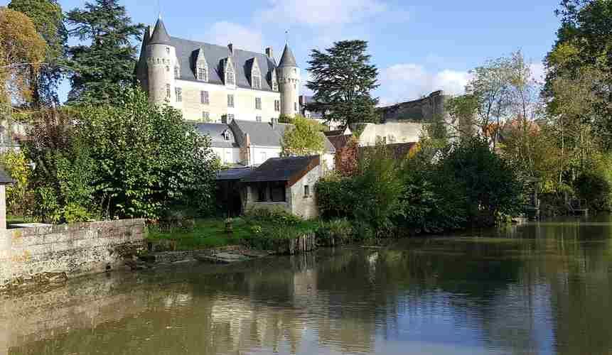loches château