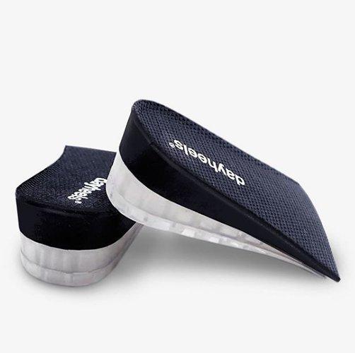 semelles talons à glisser dans des chaussures