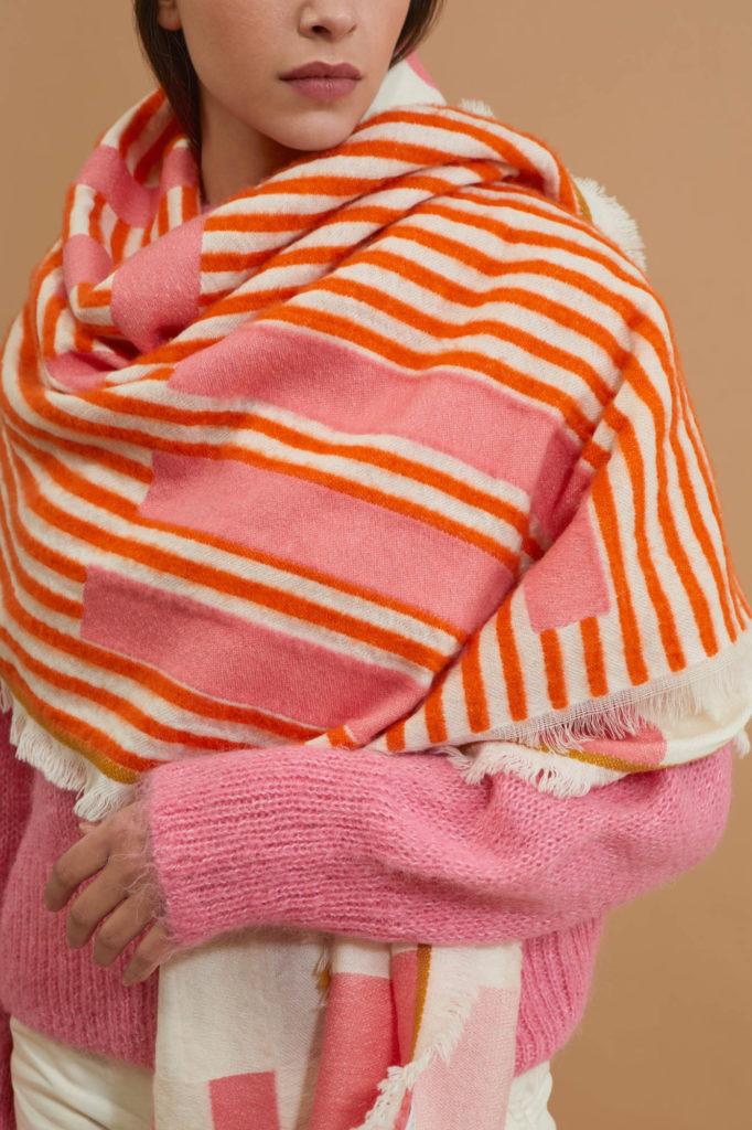 écharpe pour mode grand froid