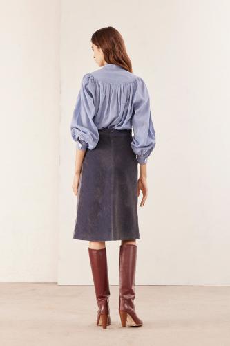 blouse bouffante