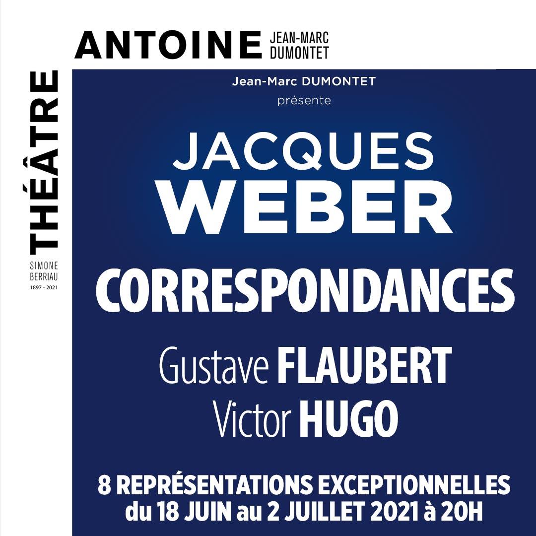 Jacques Weber correspondances