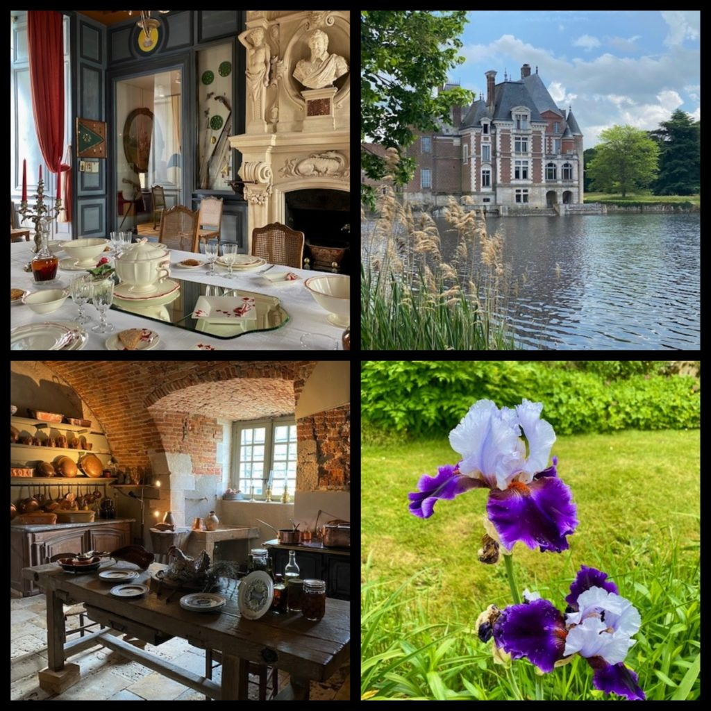 Loiret, route de la rose